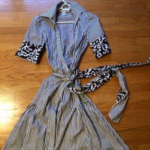 Diane von furstenberg bellette wrap dress